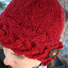 Button Up Cloche Holly
